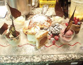Dessert-Kurs Verschiedene Desserts