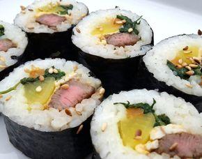 Sushi-Kochkurs-Dortmund Koreanisches Sushi, inkl. Wasser