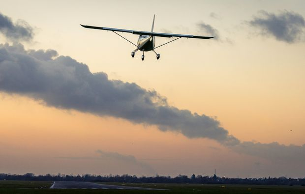 flugzeug-selber-fliegen-st-augustin-sonnenuntergang
