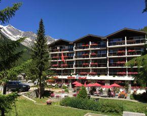Romantikwochenende - 1 ÜN - Saas-Almagell Hotel Kristall-Saphir Superior