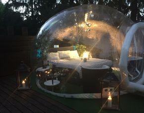 Außergewöhnlich Übernachten in der Bubble - Gerolstein - 2 ÜN im Bubble Hotel