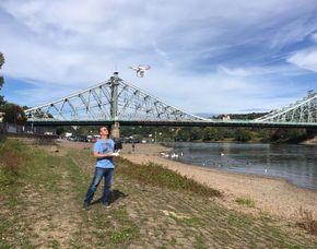 Drohnen-Schnupperfliegen - 2 Einheiten 60 Minuten inkl. 40 Minuten Schnupperfliegen