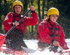 Wildwasser-Kanu-Tour auf der Isar - ca. 4 Stunden Isar - ca. 4 Stunden