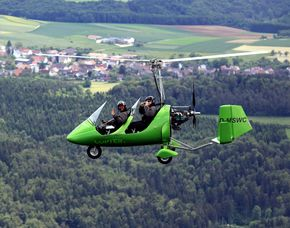 Tragschrauber selber fliegen – 45 Minuten 45 Minuten