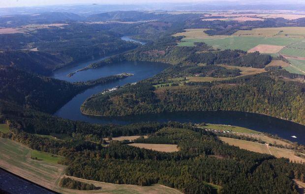 flugzeug-rundflug-bad-berka-landschaft