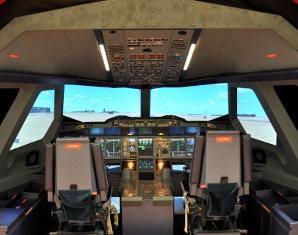 Flugsimulator - Airbus A380 - 50 Minuten Airbus A380 - 60 Minuten