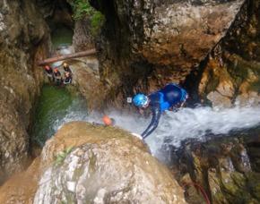 Canyoning Achensee - JSMD - Achenkirch Einsteigertour - Grenzgebiet Achensee – ca. 4-5 Stunden
