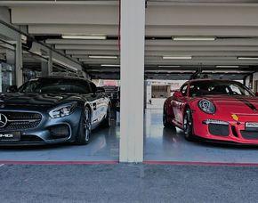 Renntaxi Porsche 911 GT3 vs Mercedes AMG GT-S - 6 Runden Porsche 911 GT3 vs Mercedes AMG GT-S - 6 Runden - Hockenheimring