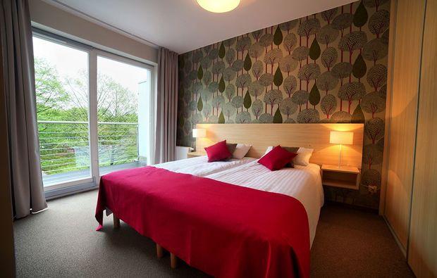 kuschelwochenende-miedzyzdroje-hotelbett
