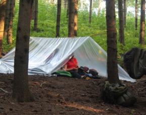 Survival Camp - Warthausen Survival-Grundlagen, Errichten eines Biwak-Platzes, Knotenkunde