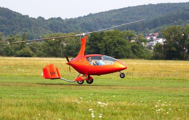 tragschrauber-rundflug-gelnhausen-abheben