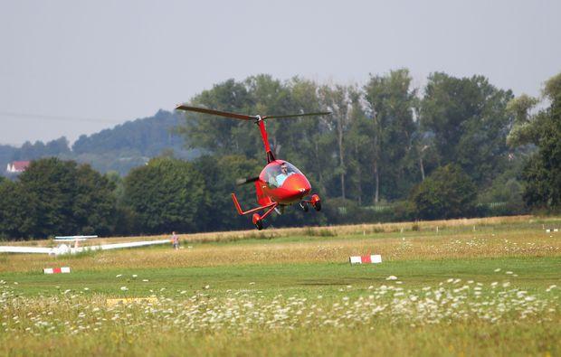 tragschrauber-rundflug-gelnhausen-landung