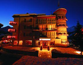 2x2 Übernachtungen - Turmhotel Grächerhof - Grächen Turmhotel Grächerhof