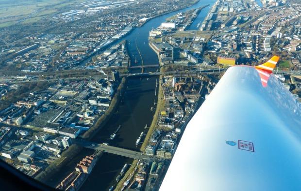 bremen-kurztrip-mit-dem-privatflugzeug-stadtblick