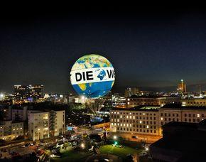 Exklusiver Aufstieg im Weltballon - Heiratsantrag in den Wolken Exklusivcharter des Weltballons - 15 Minuten