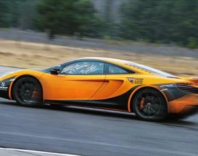 Rennstreckentraining McLaren MP4-12C 3 R 4 Runden - Lausitzring McLaren MP4-12C - 4 Runden - Lausitzring