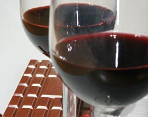 Schokolade & Wein Verkostung Verkostung von mehreren Weinen & Schokolade