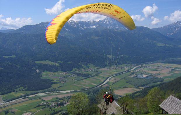 gleitschirm-tandemflug-spittaldrau-ausblick