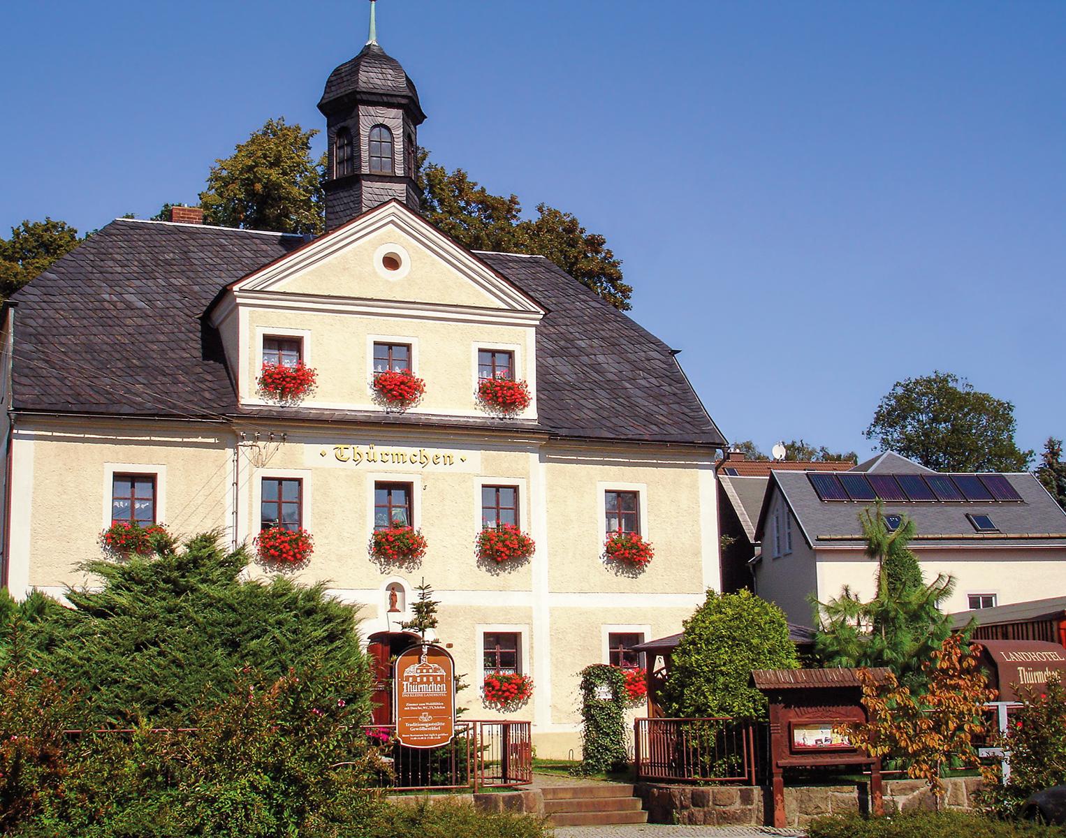 Gourmet-Restaurant - Landhotel Thürmchen Schirgiswalde 4-Gänge-Menü