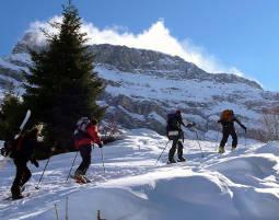 Skitour für Einsteiger mit Hütteneinkehr - Schneizlreuth Einsteiger Tour inkl. Eintopf und Heißgetränk  - ca. 5 Stunden