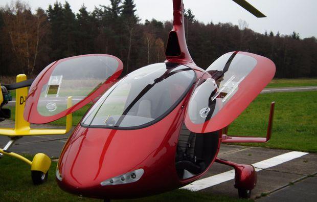 tragschrauber-rundflug-weiden-in-der-oberpfalz-gyrocopter-rot
