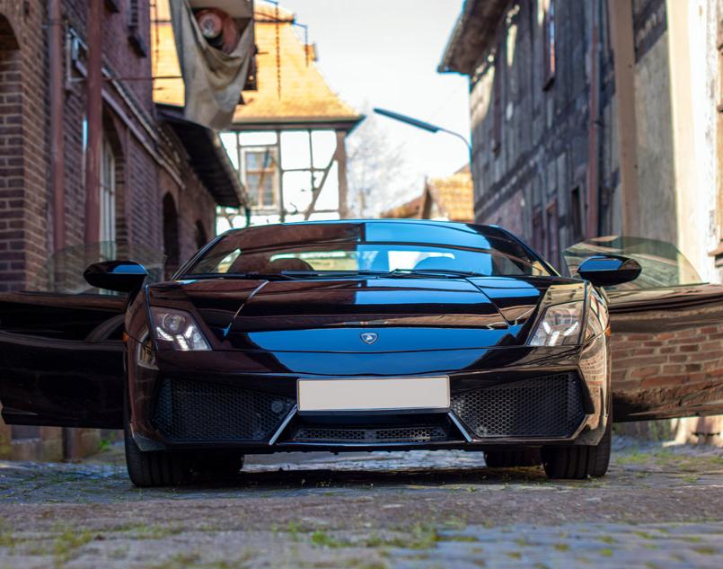 Lamborghini selber fahren - 30 Min. Hörselberg-Hainich Lamborghini Gallardo - 30 Minuten