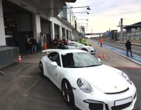Rennstreckentraining Porsche GT3 Clubsport - Meppen Porsche GT3 Clubsport - 1 Einführungsrunde, 5 Runden selber fahren - Meppen