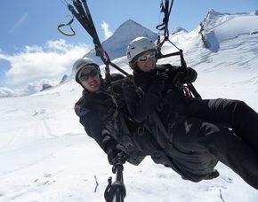 Gleitschirm-Tandemflug (Hintertuxer Gletscher) Hintertuxer Gletscher - ca. 90 Minuten