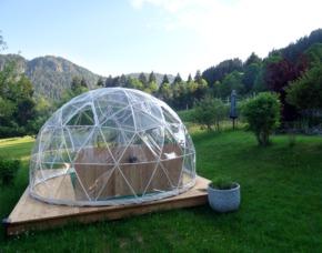 Bubble-Iglu Übernachtung im Allgäu in der Bubble im Allgäu – inkl. Frühstück
