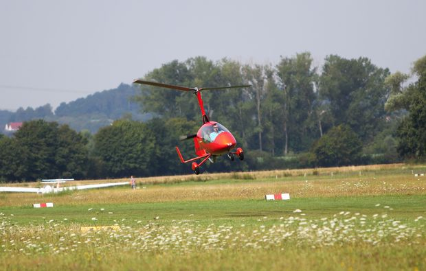 tragschrauber-rundflug-wuerzburg-landung