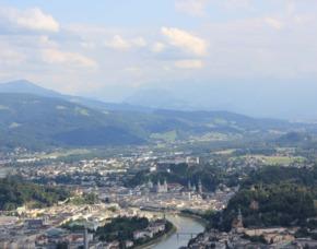 Flugzeug selber fliegen - Salzburg 60 Minuten