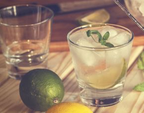 Gin-Tasting - Café Maije - Mannheim von 10 Sorten Gin & Tonic Water