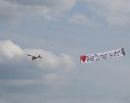 Heiratsantrag in den Wolken Raum Bonn