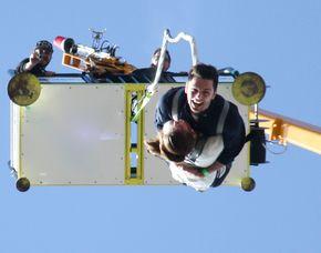 Tandem Bungee Jumping - Feststation 100 Meter Tandemsprung für Zwei von einer 100 Meter hohen Feststation