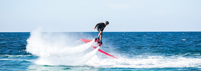 Flyboarden & Hoverboarden