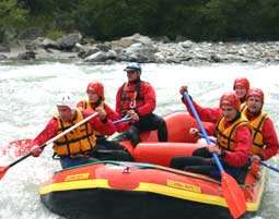Rafting - Isel - ca. 3,5 Stunden Isel - ca. 3,5 Stunden