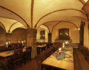 Mittelalterlicher Festschmaus 5-Gänge-Menü