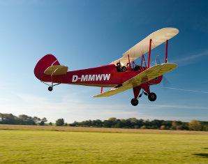 Doppeldecker-Rundflug   Großenhain über Meißen- 30 Minuten