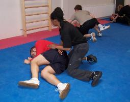 kickboxen-kampf