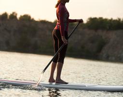Stand up paddling in Bad Bellingen auf dem Rhein Rhein, Einsteigerkurs - ca. 2,5 Stunden