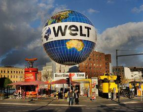 Exklusiver Aufstieg im Weltballon - Romantische Ballonfahrt Exklusivcharter des Weltballons - 15 Minuten