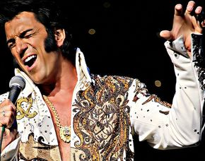 Elvis Dinner Show Bad Krozinge...