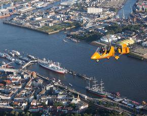 Tragschrauber-Rundflug Hamburg