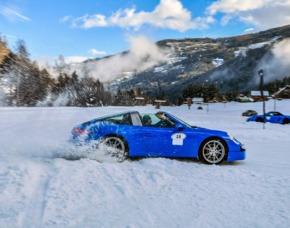 Porsche Schnee- & Ice-Drift-Training - Thomatal Porsche 718 Boxter, 718 Cayman, 911 – 5 Stunden