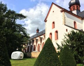 Außergewöhnlich Übernachten im sleeperoo Cube - 1 ÜN (Preis A - Mo-Do) - Eltville im Rheingau im sleeperoo Cube - inklusive Chillbox - Kloster Eberbach