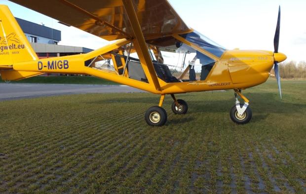 ultraleichtflugzeug-rundflug-schwandorf-action