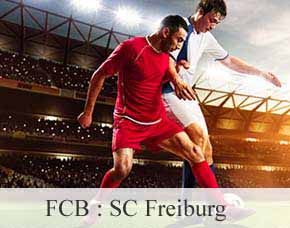 2016/2017 - FCB: SC Freiburg - Kurve Tickets Kurve - Übernachtung im 4-Sterne Hotel