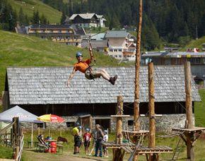 Hochseilgarten & Flying Fox - Innerkrems Inkl. Flying Fox – 4 Stunden