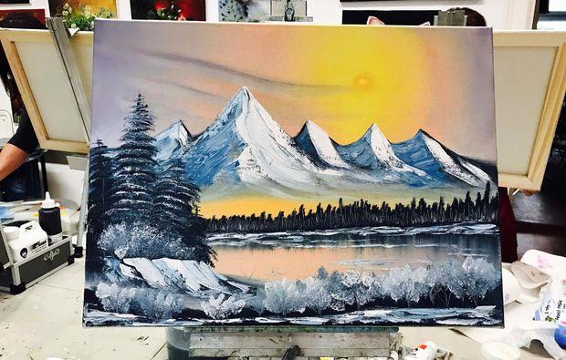 bob-ross-malkurs-koeln-landschaft-berge