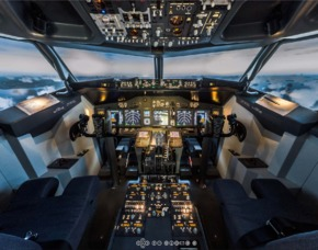 B737-800 Full Motion Simulator - Kaltenkirchen B737-800 – 90 Minuten